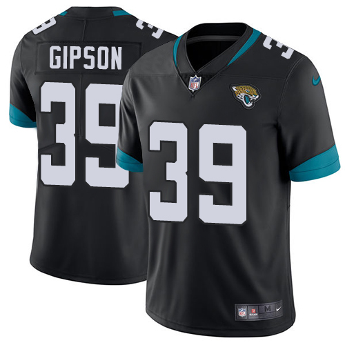 Nike Jaguars #39 Tashaun Gipson Black Alternate Men's Stitched NFL Vapor Untouchable Limited Jersey